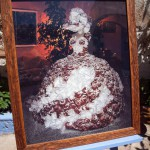 Hochzeitskleid mit Ensaimada